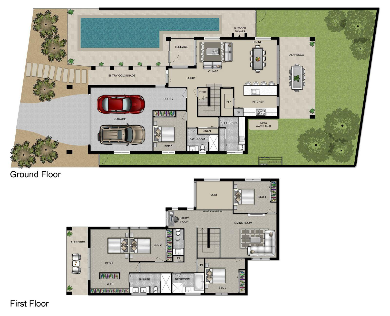 Marcoola Floorplan