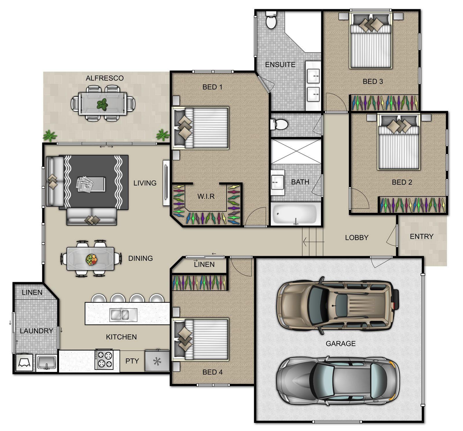 Helena Floorplan