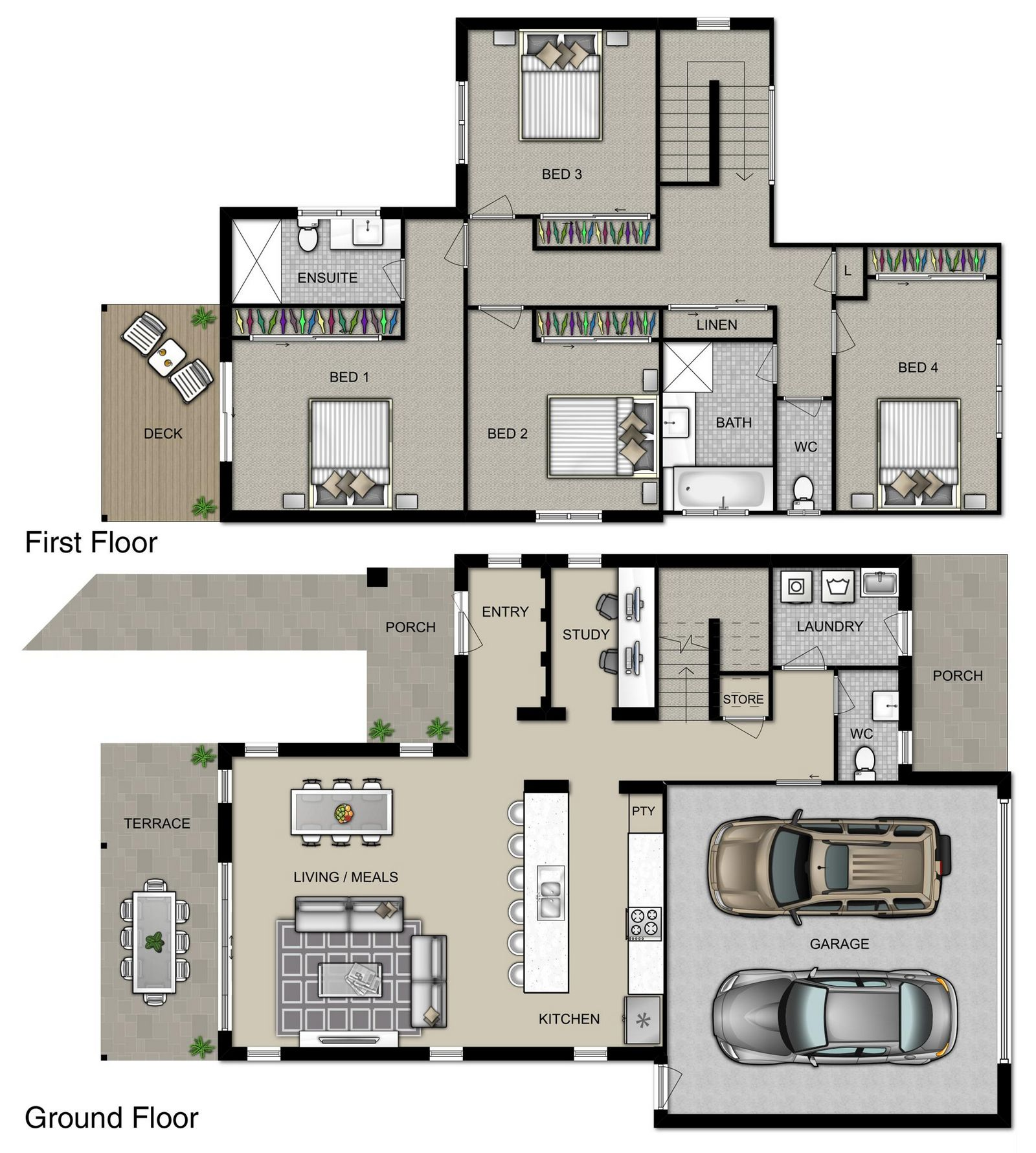 Avalon Floorplan