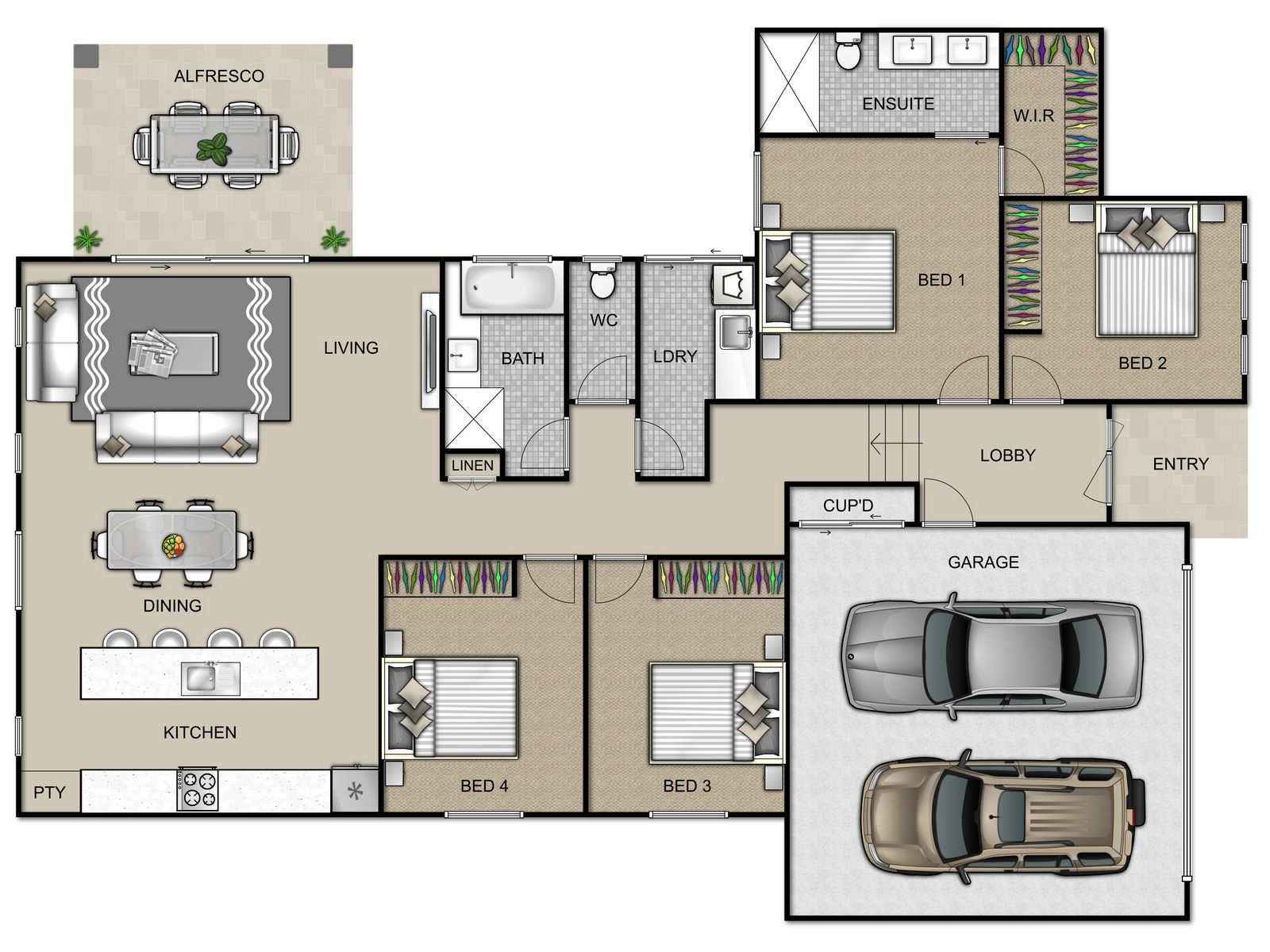 Kingfisher Floorplan