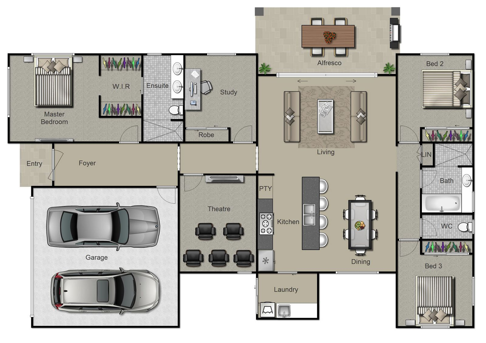 Hayman Floorplan
