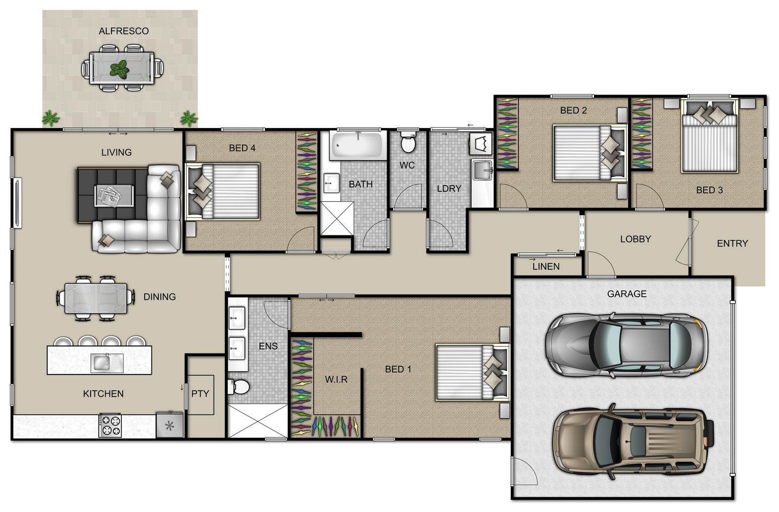 Sovereign Floorplan