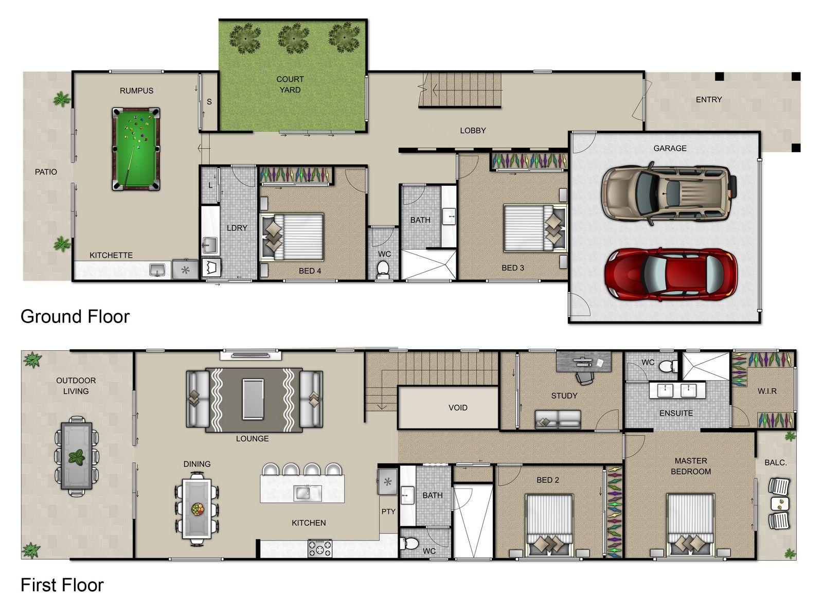 Fraser Floorplan