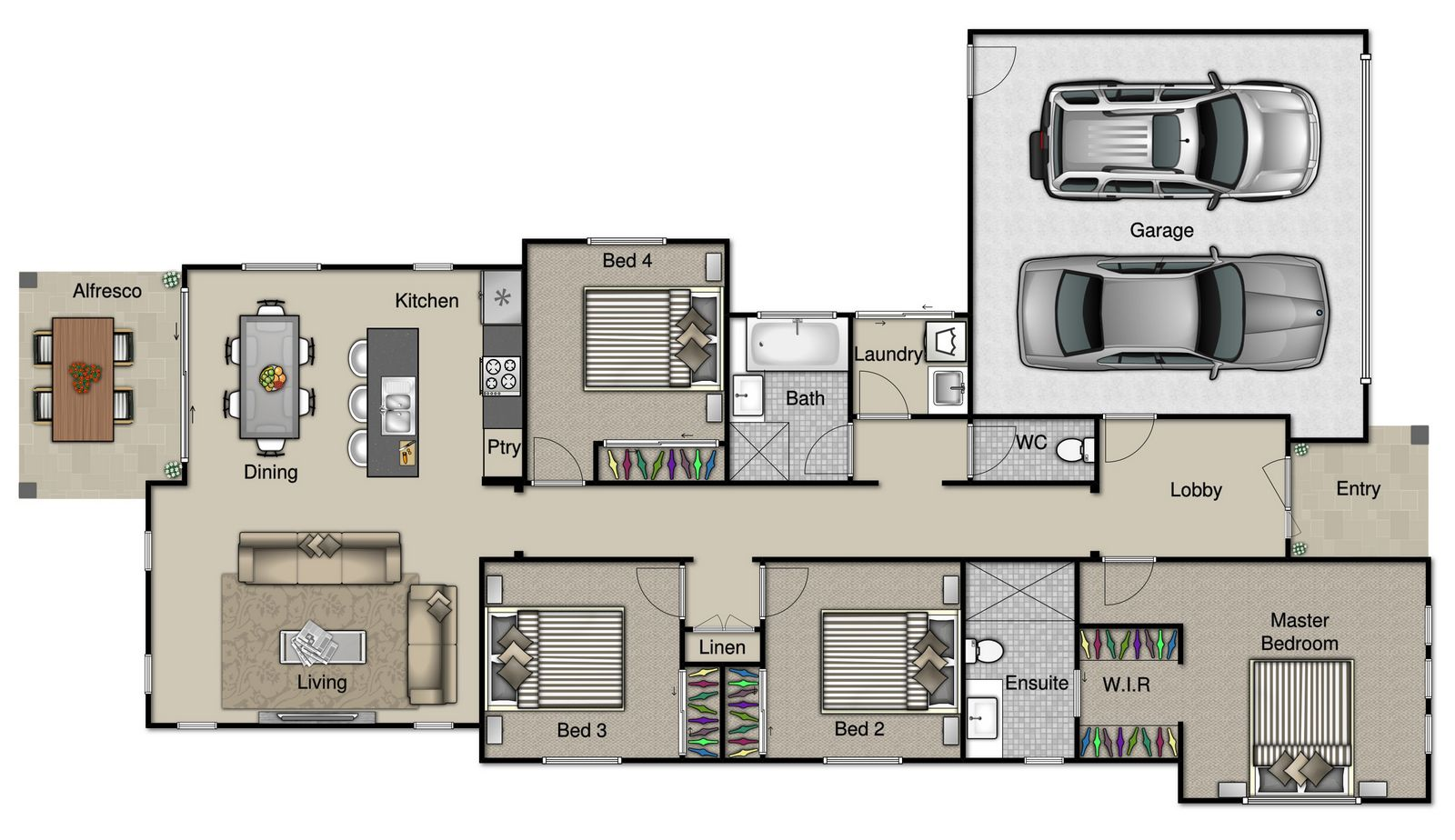 Catalina Floorplan