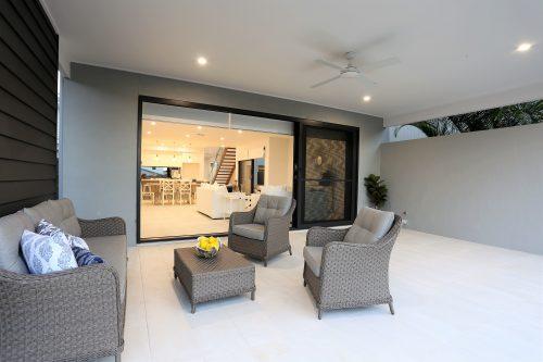 Lounge room outside